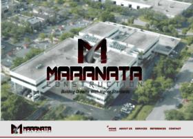 maranataconstruction.com