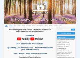 maranathamedia.com