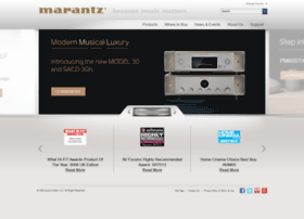 marantz.co.uk