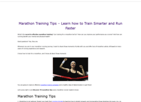 marathon-training-tips.com