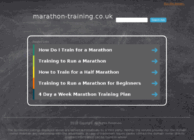 marathon-training.co.uk