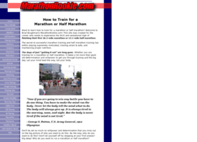 marathonrookie.com