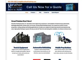 marathonspraybooths.com