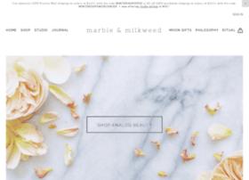 marbleandmilkweed.com
