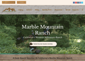 marblemountainranch.com