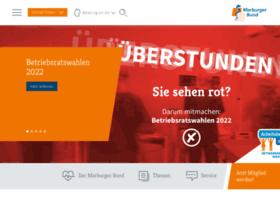 marburgerbund.de