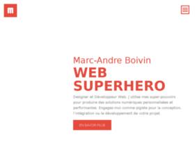 marcandreboivin.com
