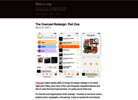 marco.org