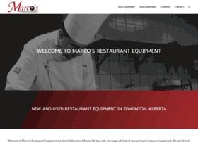 marcosrestaurantequipment.com