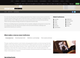 marcusevans-conferences.com