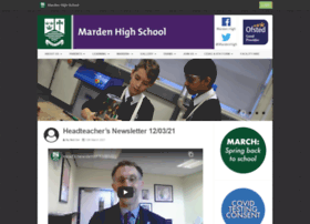 mardenhigh.net