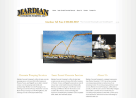 mardianconcretepumping.com