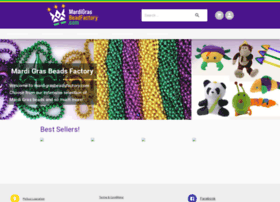 mardigrasbeadsfactory.com