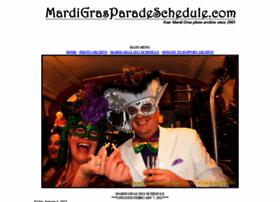 mardigrasparadeschedule.com