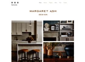 margaretashdesign.com