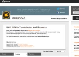 mari.ideascale.com