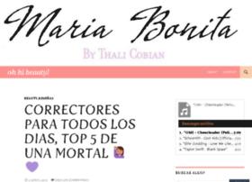 mariabonitabythalia.com