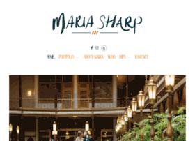 mariacsharp.com