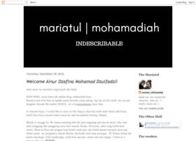 mariamohamadiah.blogspot.com