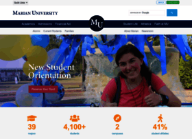 marian.edu