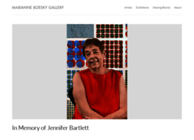 marianneboeskygallery.com