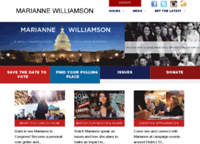 mariannewilliamsonforcongress.nationbuilder.com