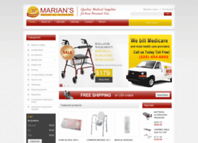 mariansmedicalsupplies.com