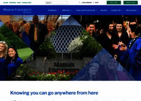 marianuniversity.edu