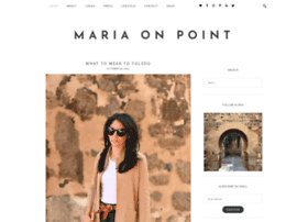 mariaonpoint.com