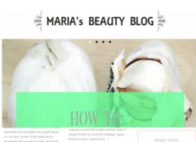 mariasbeautyblog.com