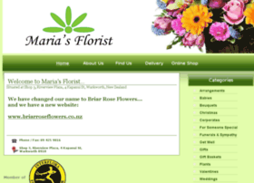 mariasflorist.co.nz