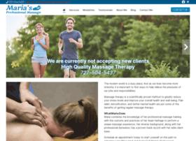 mariasprofessionalmassage.com