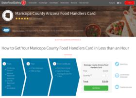 maricopa.statefoodsafety.com