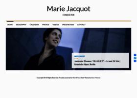 marie-jacquot.com