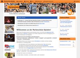marienschule.com
