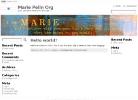 mariepelin.org