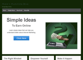 mariesmarketingblog.com