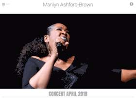 marilynashfordbrown.com