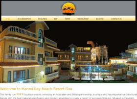 marina-beach-resort-goa.com
