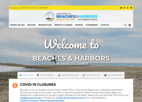 marinadelrey.lacounty.gov