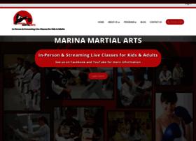 marinataekwondo.com