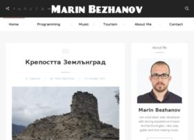 marinbezhanov.com