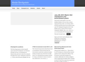 marincheckpoints.com