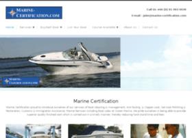 marine-certification.com