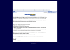 marinesafetycorporation.com