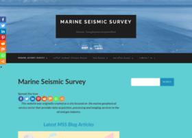marineseismicsurvey.com