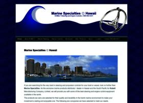 marinespecialtieshawaii.com