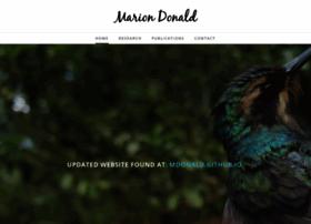 mariondonald.weebly.com