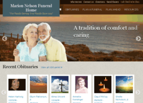 marionnelsonfuneralhome.com