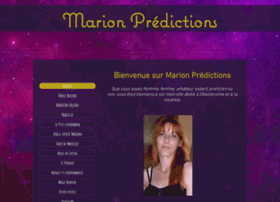 marionpredictions.fr